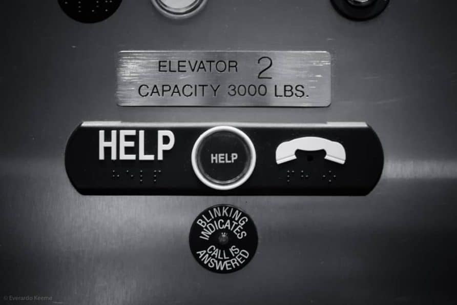 Everardo Keeme Photography Photographer stuck in an elevator ... without a camera elevator